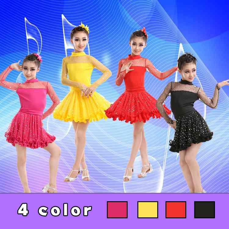 ダンス衣装 ワンピース ジュニア ダンスウェア 子供ダンスウェア ラテンダンスウェア ベリーダンスウェア キッズダンスウェア ダンスウェア