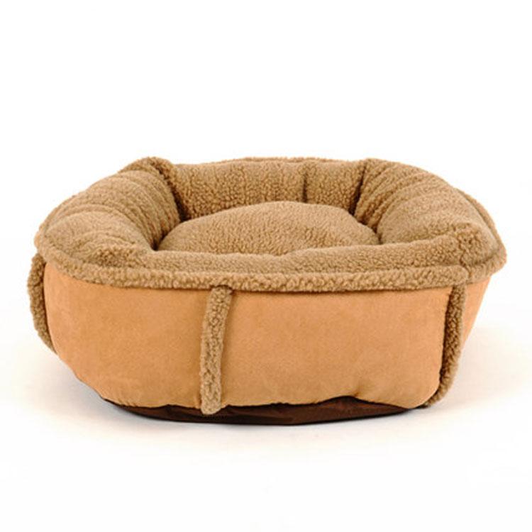 丸型 もこもこ 猫ベッド 犬ベッド ペット ソファ クッション ペットベッド 犬用 大型犬 中型犬 小型犬 ネコ用 猫 ネコ キャット あったか 洗える