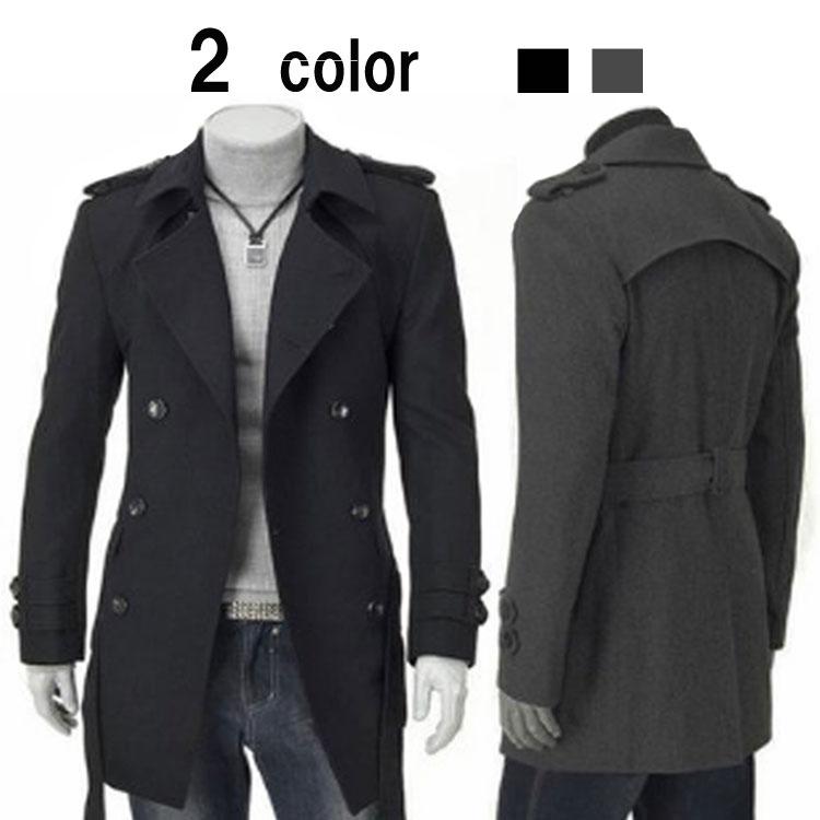 アウター 長袖 テーラードジャケット ダブルボタン チェスターコート スプリングコート メンズ コート トレンチコート ロングコート