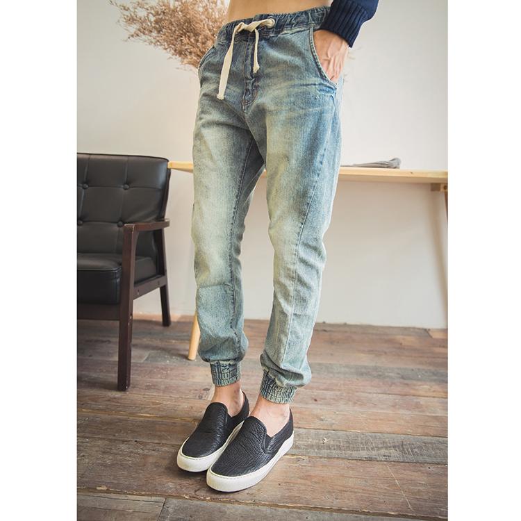 メンズ ジョガーパンツ クロップドパンツ 男の子 デニムパンツ スウェットパンツ イージーパンツ 無地 長ズボン 長パンツ 運動 カジュアル