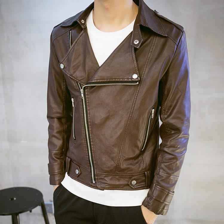 ライダースジャケット メンズ ショート丈ジャケット スリムジャケット お兄系 バイクジャケット 革ジャン レザージャケット PUジャケット