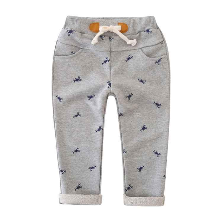 89ef3be40ecb0 動物柄プリント 長ズボン パンツ キッズパンツ 男の子 男児 子供パンツ 子供服 ロールアップ