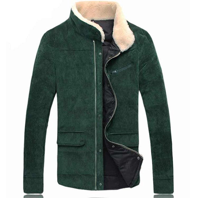 アウター ダウンジャケット 長袖 無地 スタンドカラー 立ち襟 大きいサイズ コート メンズ 長袖 ハーフコート 襟ボア アウター スリム 細身